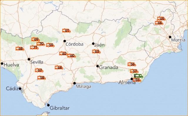 Onderliggende kaarten: OpenStreetMap
