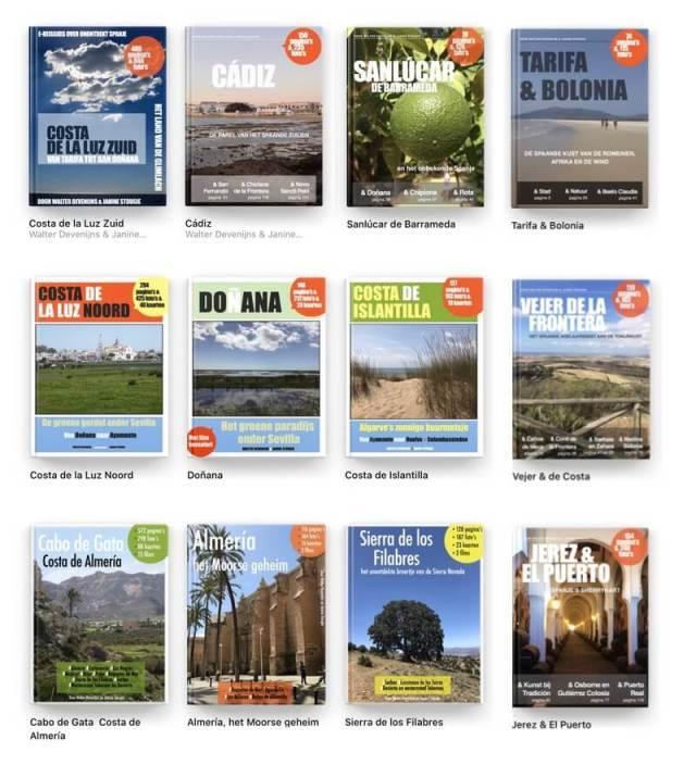 Onze e-reisgidsenreeks, verkrijgbaar bij Apple Books of Boekenbestellen.nl. De e-reisgidsen die écht alles laten zien.