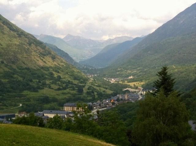 Vielha, in de Catalaanse Pyreneeën.