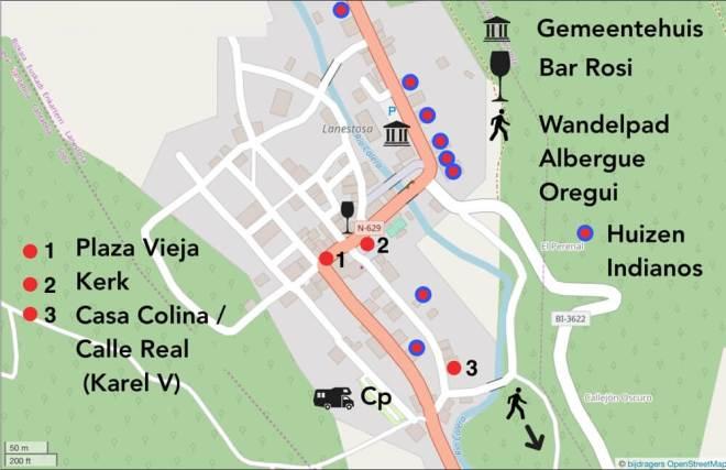 Lanestosa. bron: Openstreetmap