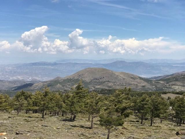 We gingen ook de hoogte in, in natuurpark Sierra de los Filabres.