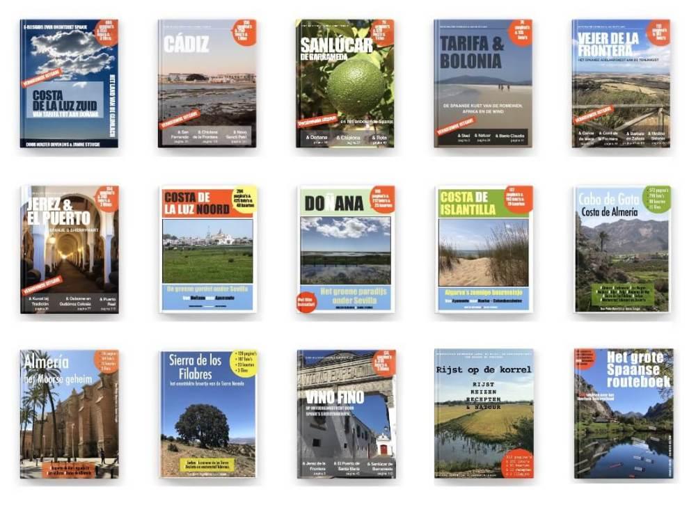 Onze e-reisgidsenreeks over de onontdekte gebieden in Spanje, verkrijgbaar bij Apple Books of Boekenbestellen.nl. De e-reisgidsen die écht alles laten zien.
