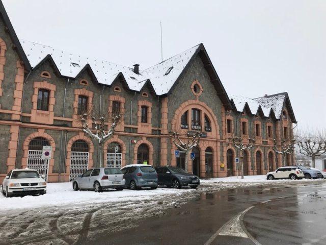 Het station van Puigcerdà.
