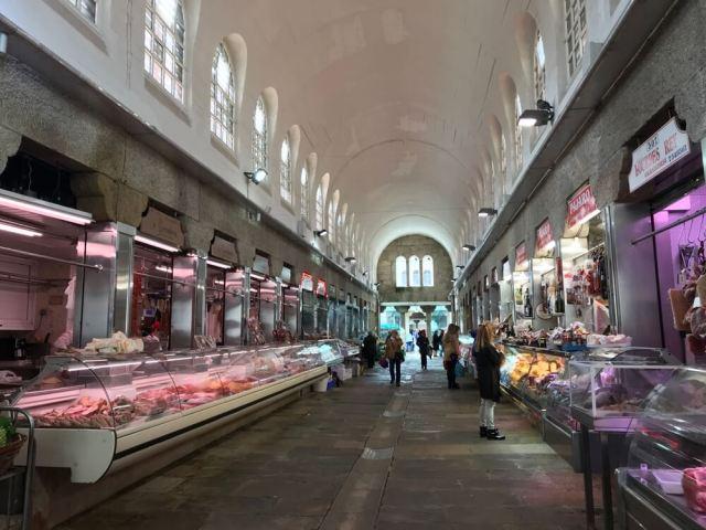De Mercado de Abastos van Santiago is echt een tempel van lekkernijen.