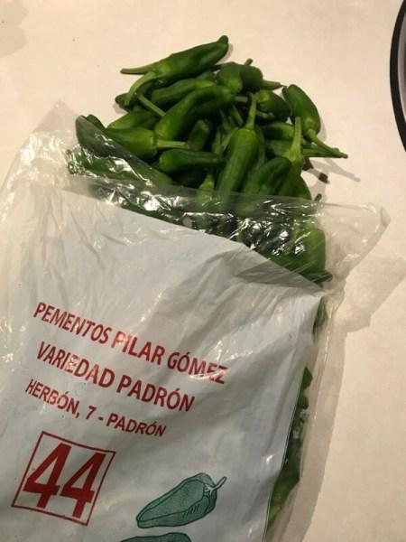 Soms kun je Padrón 'vangen' in een zakje.