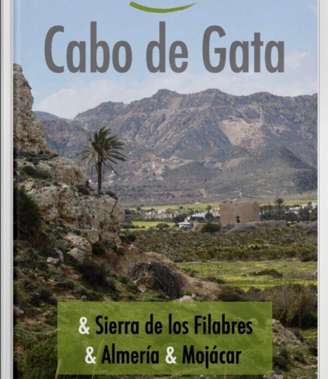De (voorlopige) voorpagina van onze e-reisgids over Cabo de Gata en omgeving.