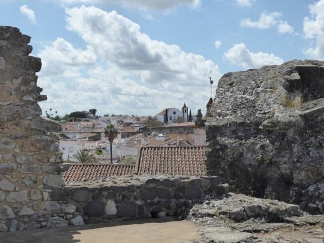 Serpa vanaf het kasteel.