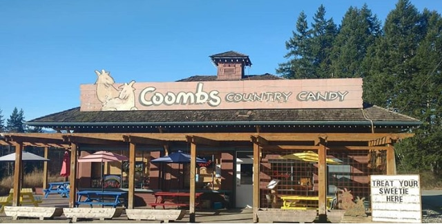 Campertunity get away Port Alberni Coombs Country Candy