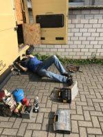 Montage eine unterflur Gassteckdose inkl. Gasprüfung undd Service