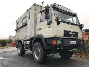 Elektroinstalation am MAN 10.224 allrad Fernreisemobil von Leostour4x4