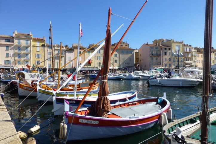 St.Tropez harbour France favourite camper country