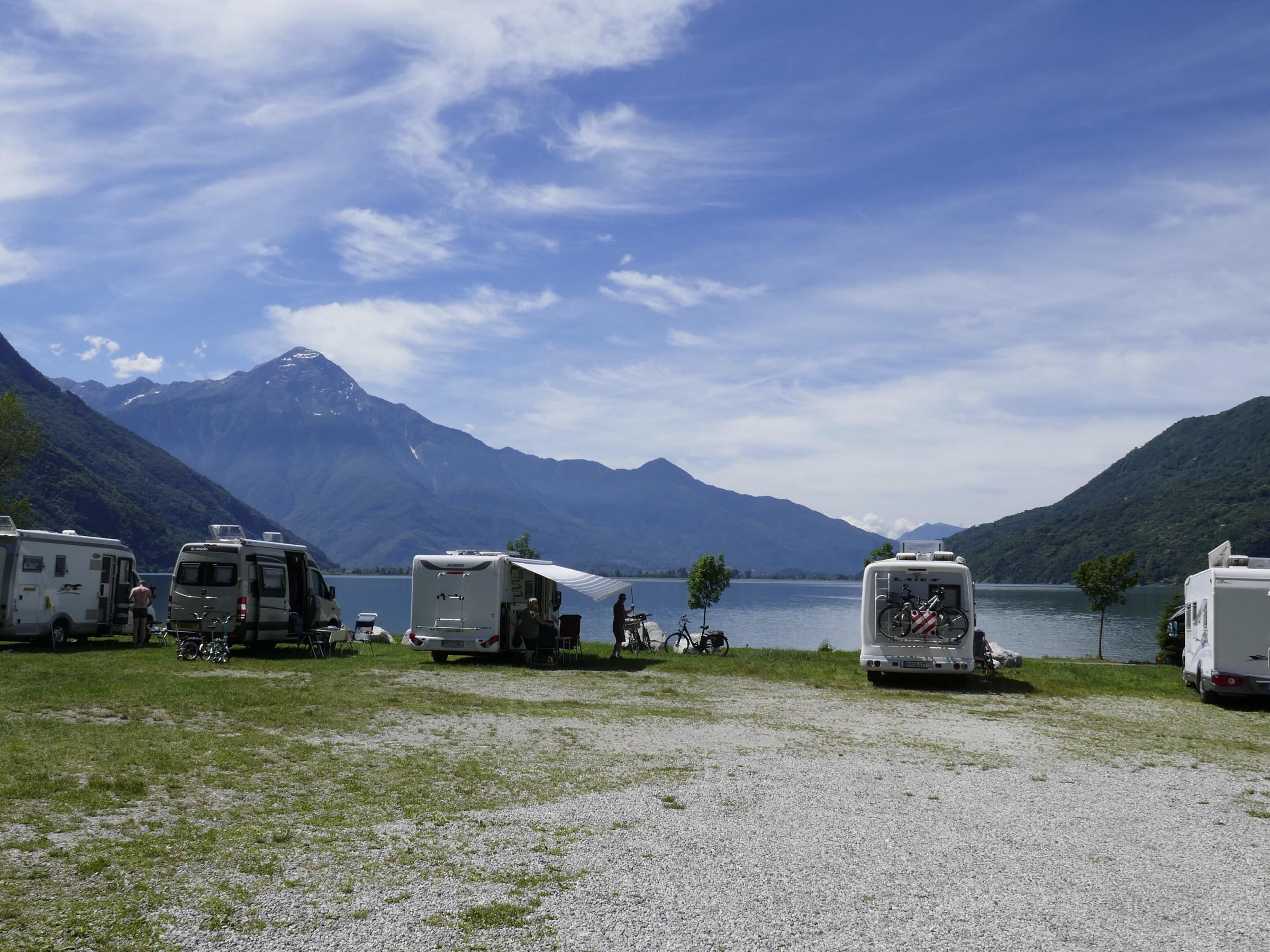 Italian Sosta Camper Parking