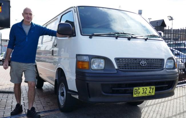 buying a van Australia