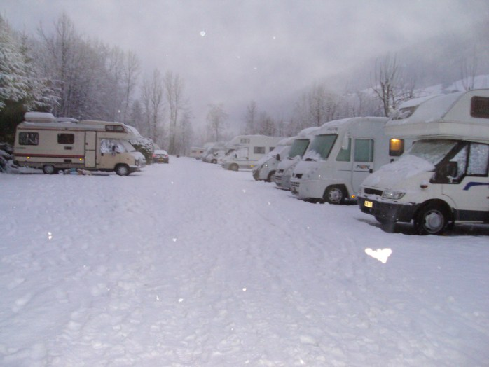 Ski Resorts in a Campervan