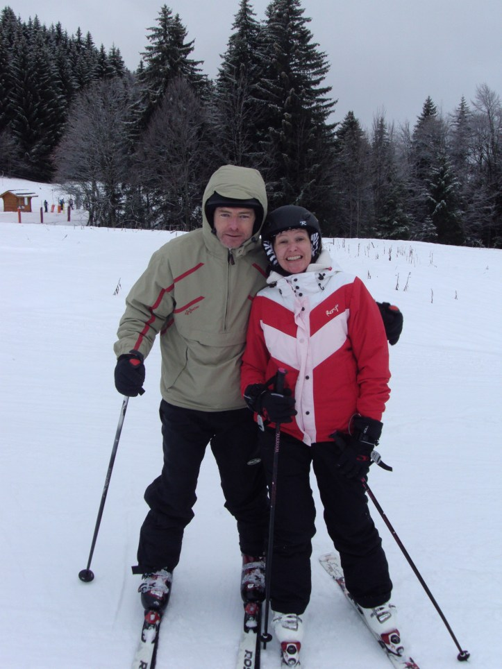 Skiing in a Campervan