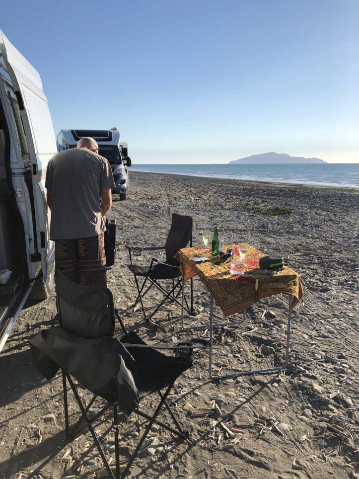 Hiring a campervan New Zealand