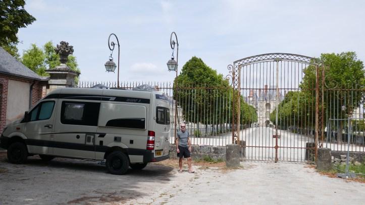 Calais to Italy in a campervan