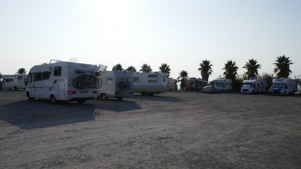 Motorhome Aires Sosta San Remo