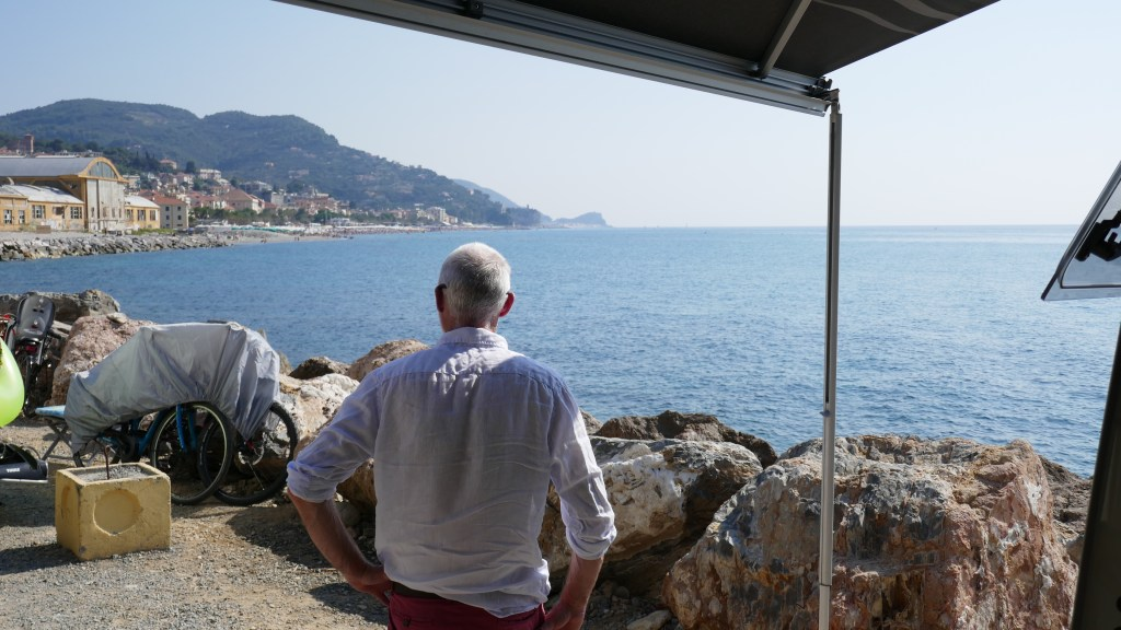 The Italian Riviera in a Campervan