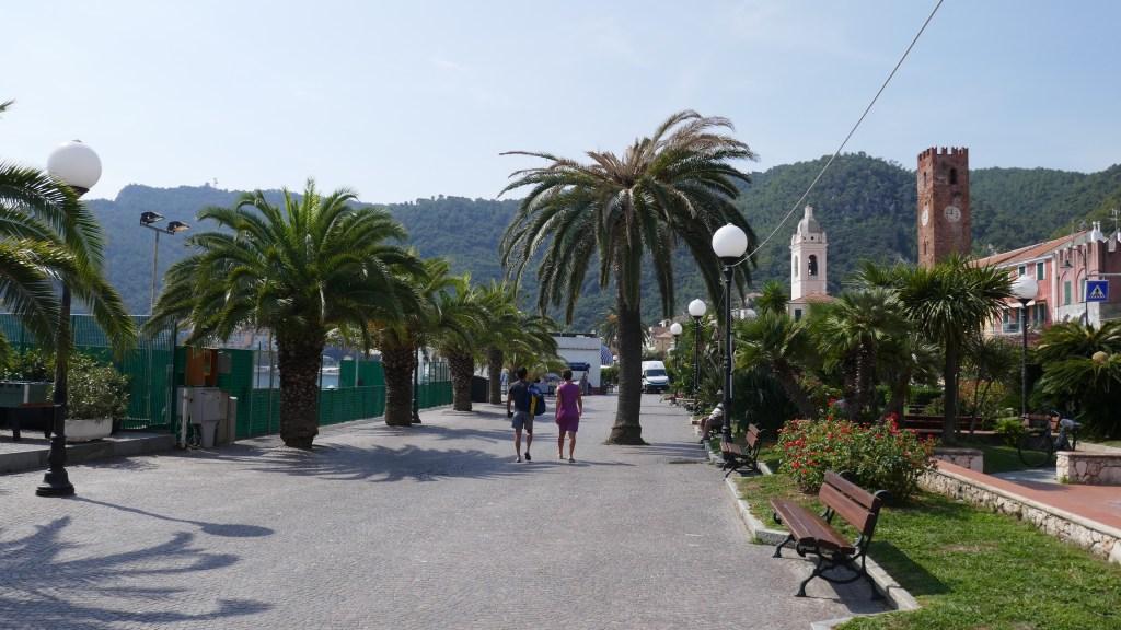 The Italian Riviera in a Campervan