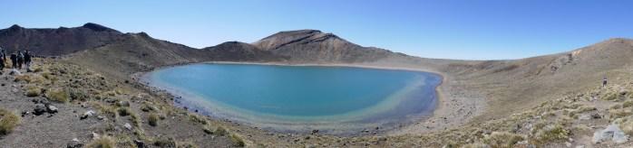 Volcanic Blue Lake New Zealand