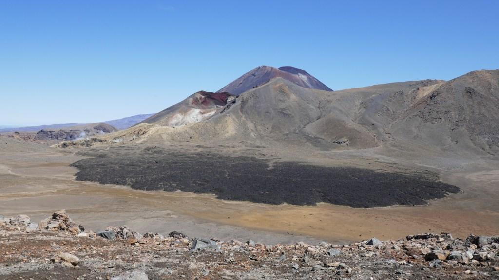 Volcanic Lava at Tongariro