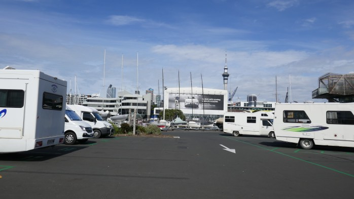 Auckland motorhome parking