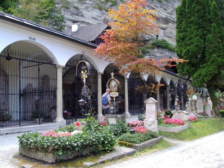 St Peters cemetery Austria The sound of music
