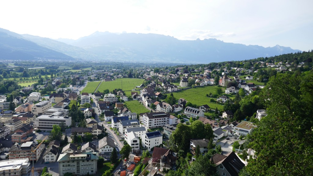 the little country Liechtenstein
