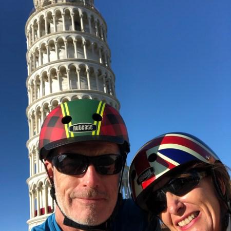 Visiting Pisa in a Campervan