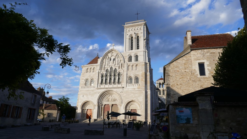 French travels through Burgundy