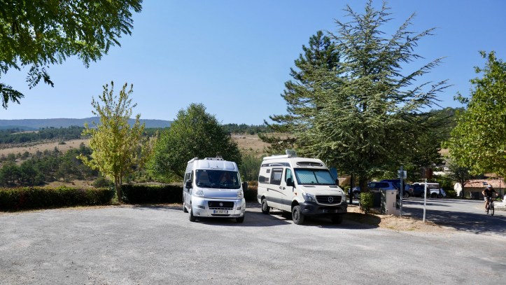 Aire de Camping Car France