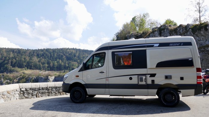 Sprinter 4x4 Campervan