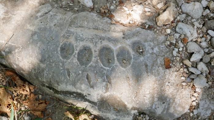 Sculptor footprints