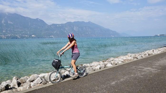 Cycle Path Lac Bourget