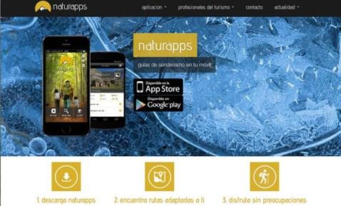 Naturapps,LaguíadeSenderismoparallevarentúmóvil