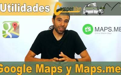 Google Maps y Maps.me para planificar tus viajes