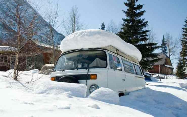 Wohnmobil Wasserleitungen Winterfest