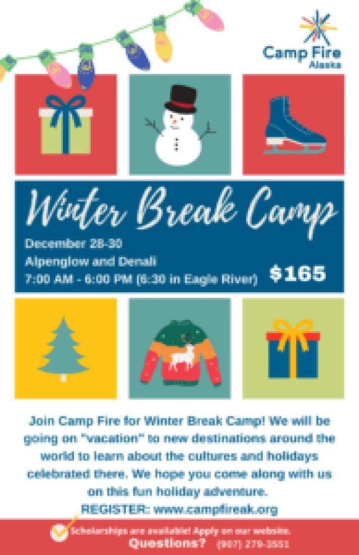 winter break 2020 flier