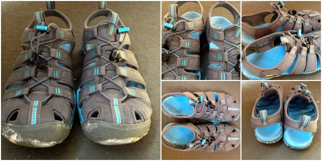 NEW CNX Clearwater Sandal by Keen Footwear - gear review by Campfire Chic