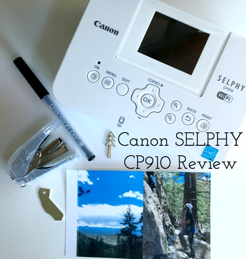 Canon SELPHY CP910 Photo Printer Review - Campfire Chic
