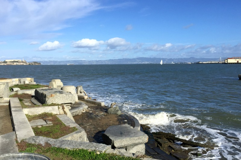2015 San Fransisco - The Wave Organ Alcatraz City View - Campfire Chic