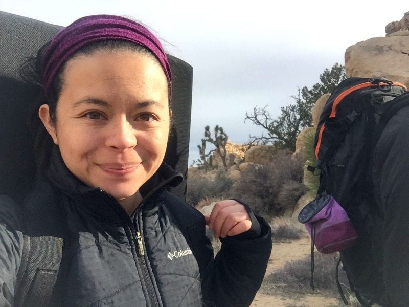 Kam of Campfire Chic in Joshua Tree National Park - Campfire Chic