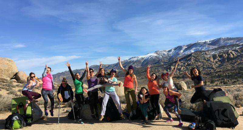 Flash Foxy Womens Climbing Festival 2016 - Bridging the Gap Workshop - Campfire Chic