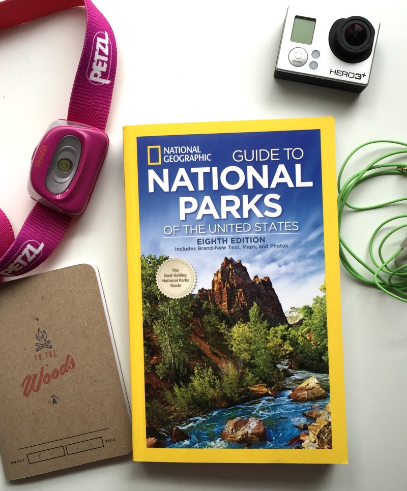 Travel Planning Books - National Geographic Guide to the National Parks Eighth Edition - Campfire Chic