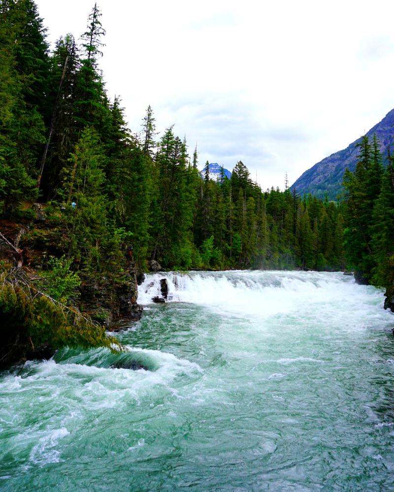 McDonald Creek in Glacier National Park - Campfire Chic