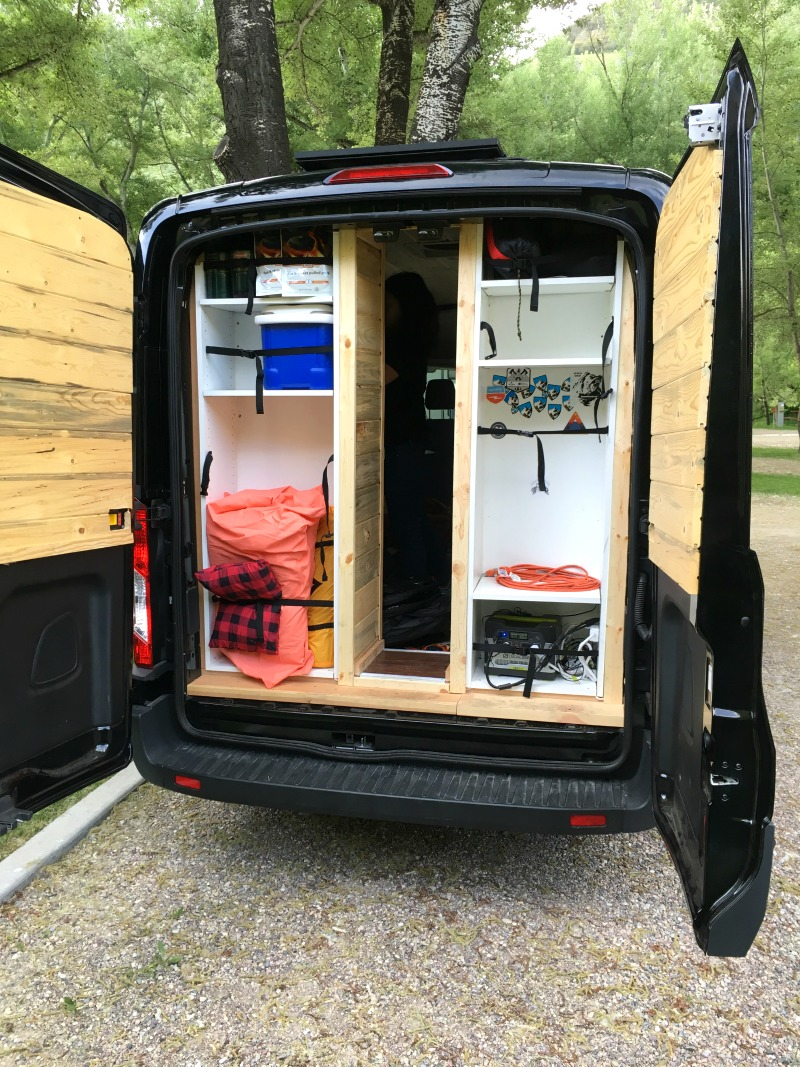 Teton Sports Van Life Ford Transit Van - Campfire Chic
