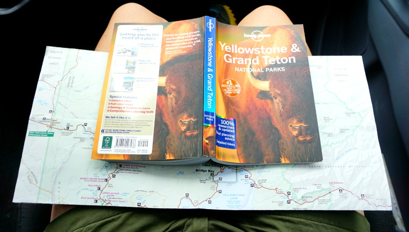 Navigating Through Yellowstone National Park with Lonely Planet