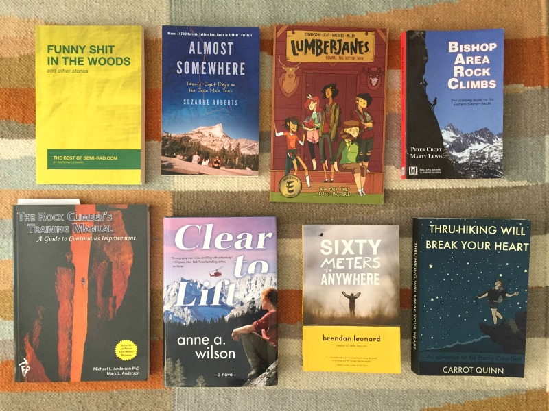 Fall 2016 Outdoor Adventure Books Reading List Campfire Chic