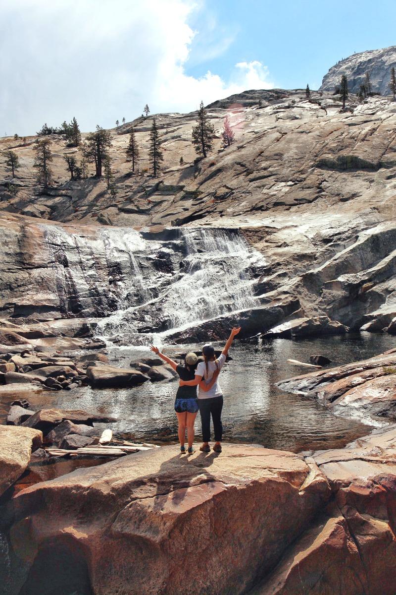 Waterfalls in Yosemite - Campfire Chic